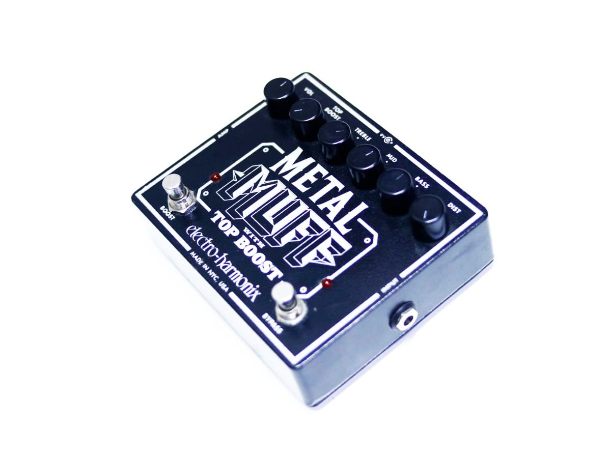 Pedal Metal Muff With Top Boost Electro Harmonix Ehx - Usado
