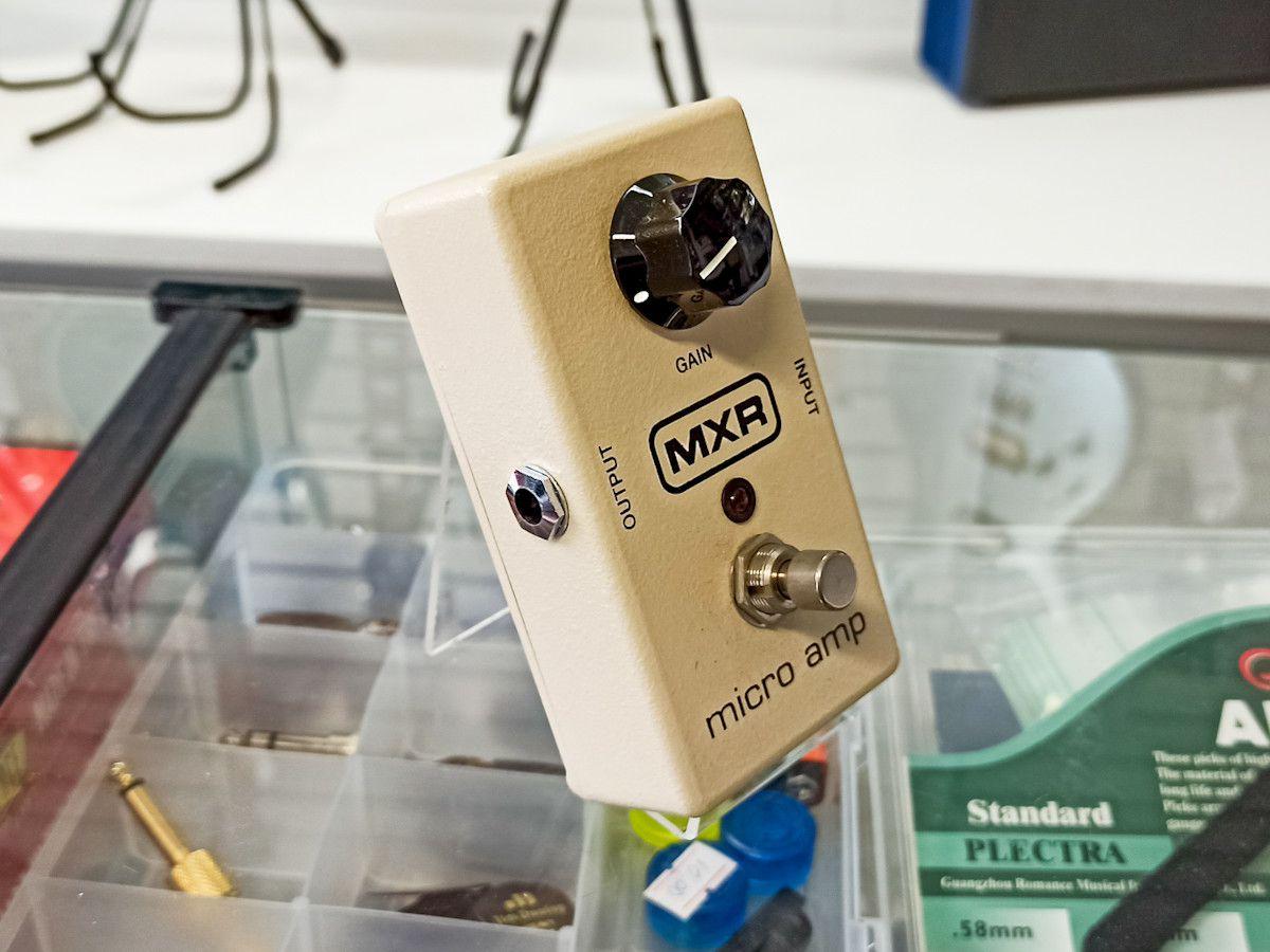 Pedal Mxr Micro Amp M133 Dunlop - Usado