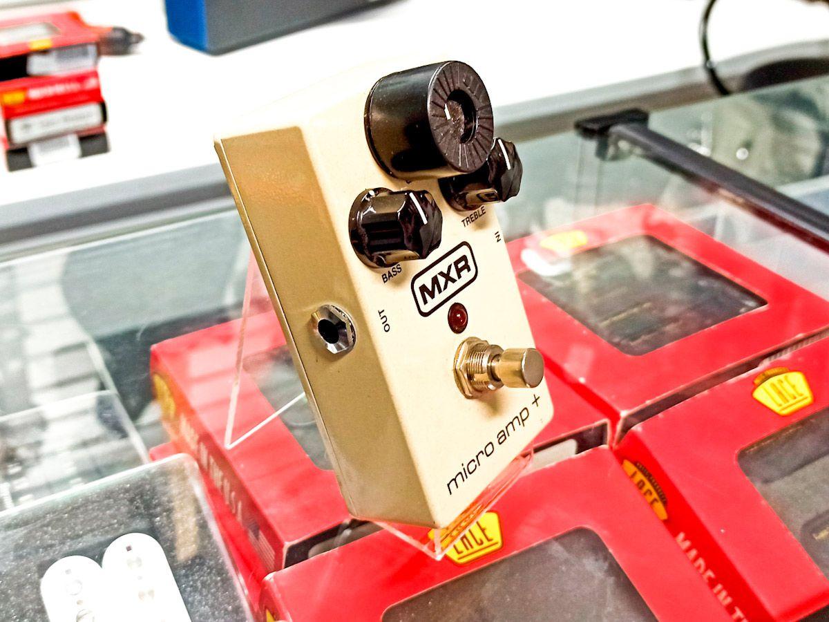 Pedal Mxr Micro Amp + Usado