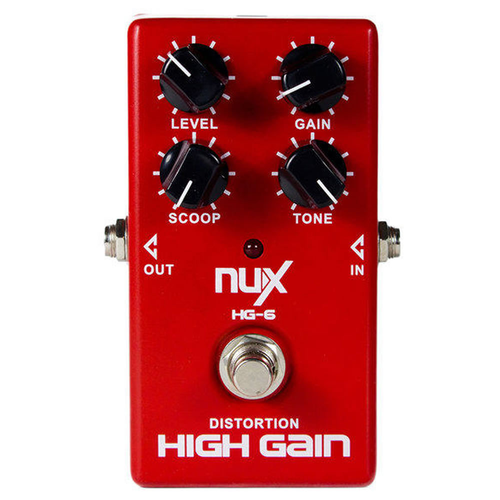 Pedal Nux - Modern High Gain Hg-6 Distorção
