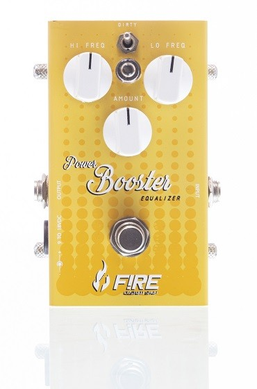 Pedal para guitarra Fire New Power Booster