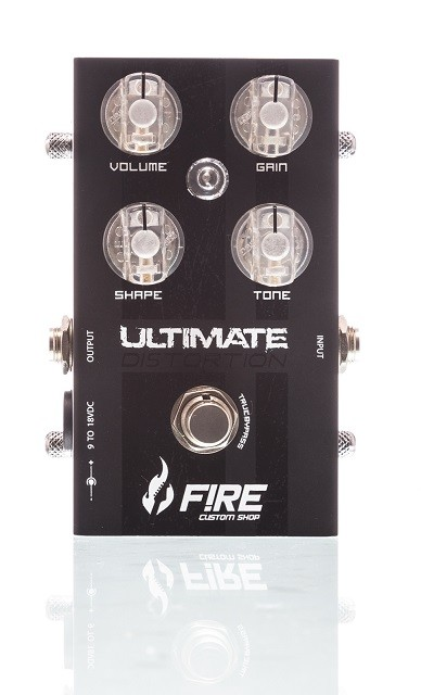 Pedal para guitarra Fire New Ultimate Distortion