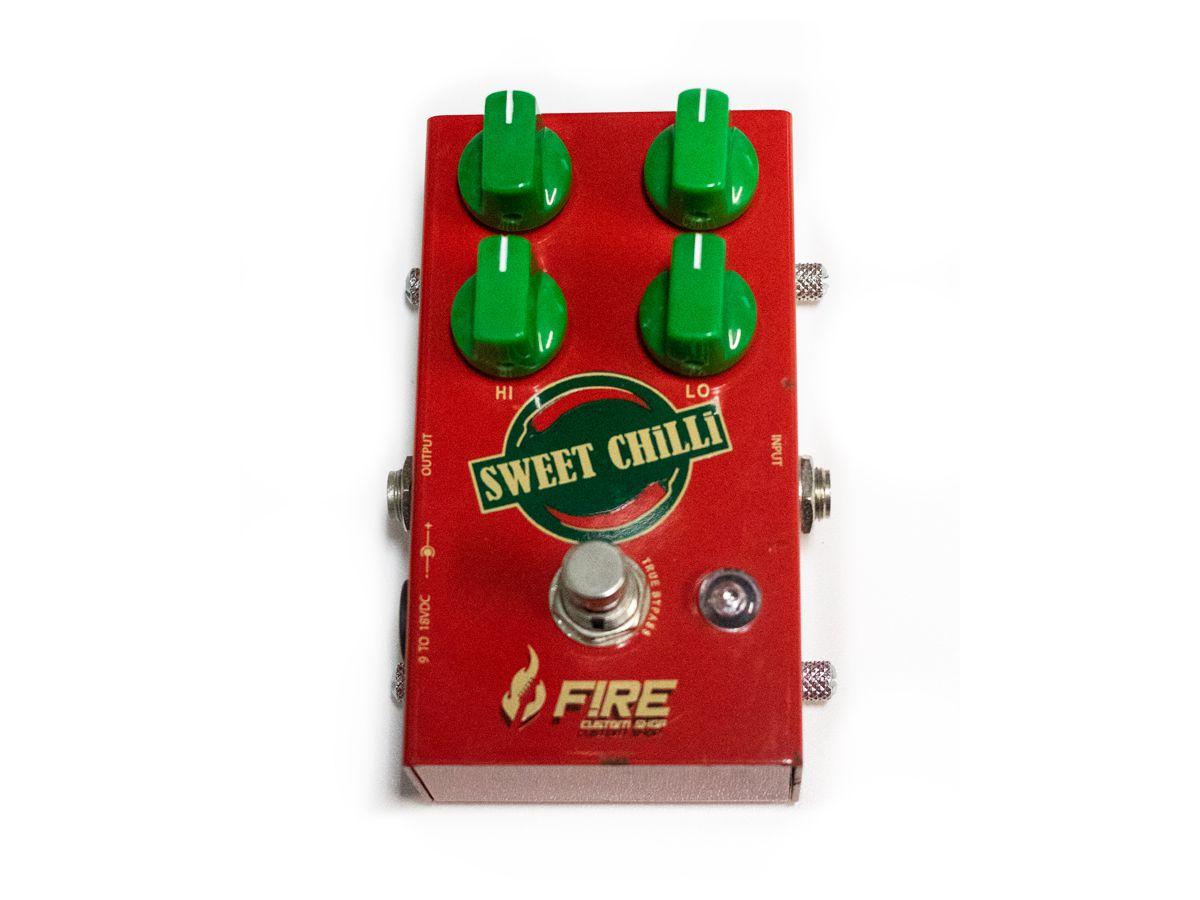 Pedal para guitarra Fire Sweet Chilli - Usado