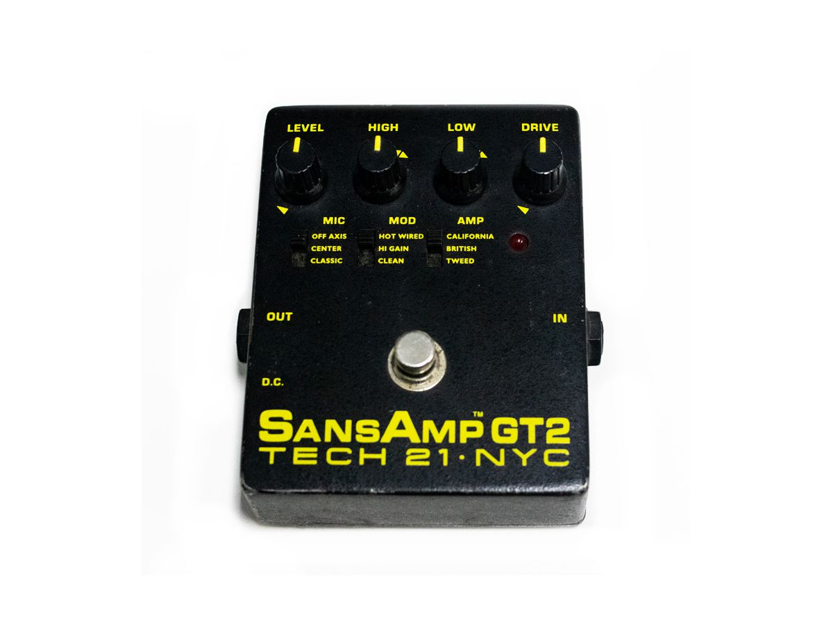 Pedal Sansamp Gt2 Tech 21 - Usado