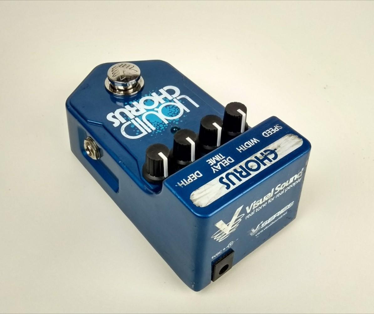 Pedal Visual Sound Liquid Chorus USADO