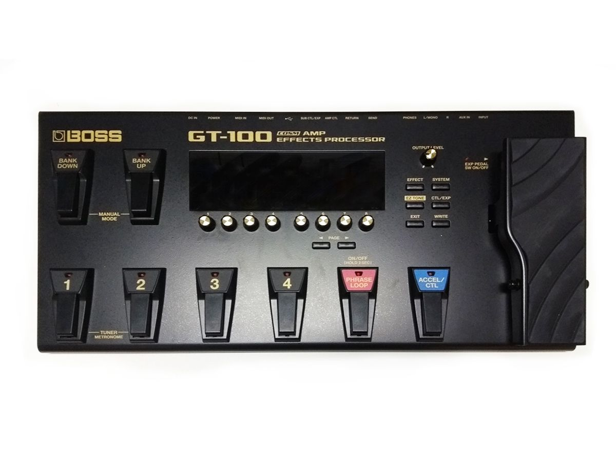 Pedaleira Boss GT-100 - USADA - c/ Case