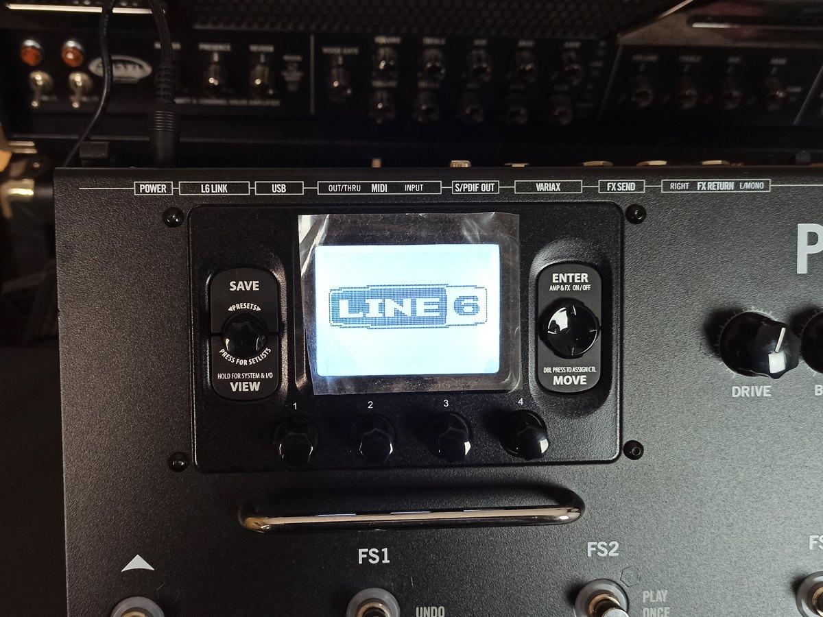 Pedaleira Line 6 Pod Hd500x Multi Efeito Usada Na Caixa - Impecável