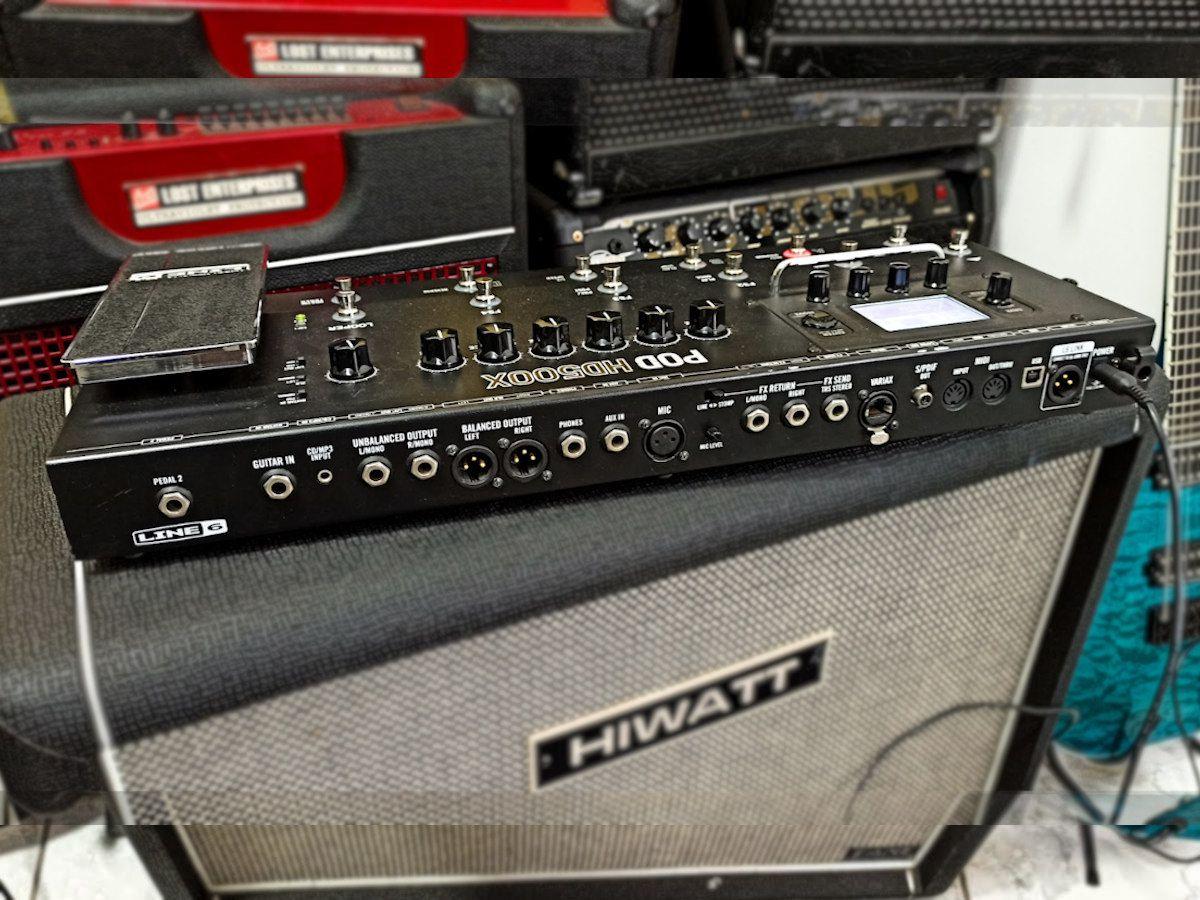 Pedaleira Para Guitarra Line 6 Pod Hd500x – Multi Efeitos - Usada