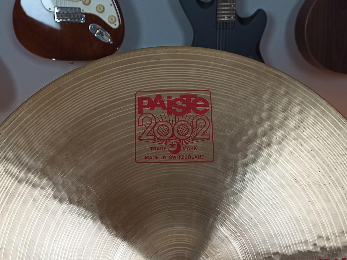 """Prato Paiste 2002 Crash 20"""" – Usado"""
