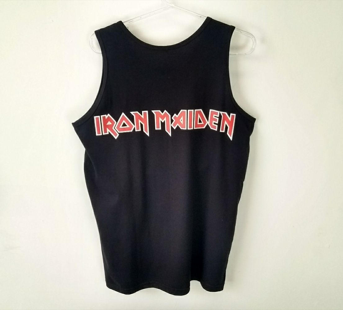 Regata Masculina Iron Maiden Fear Of The Dark Preta