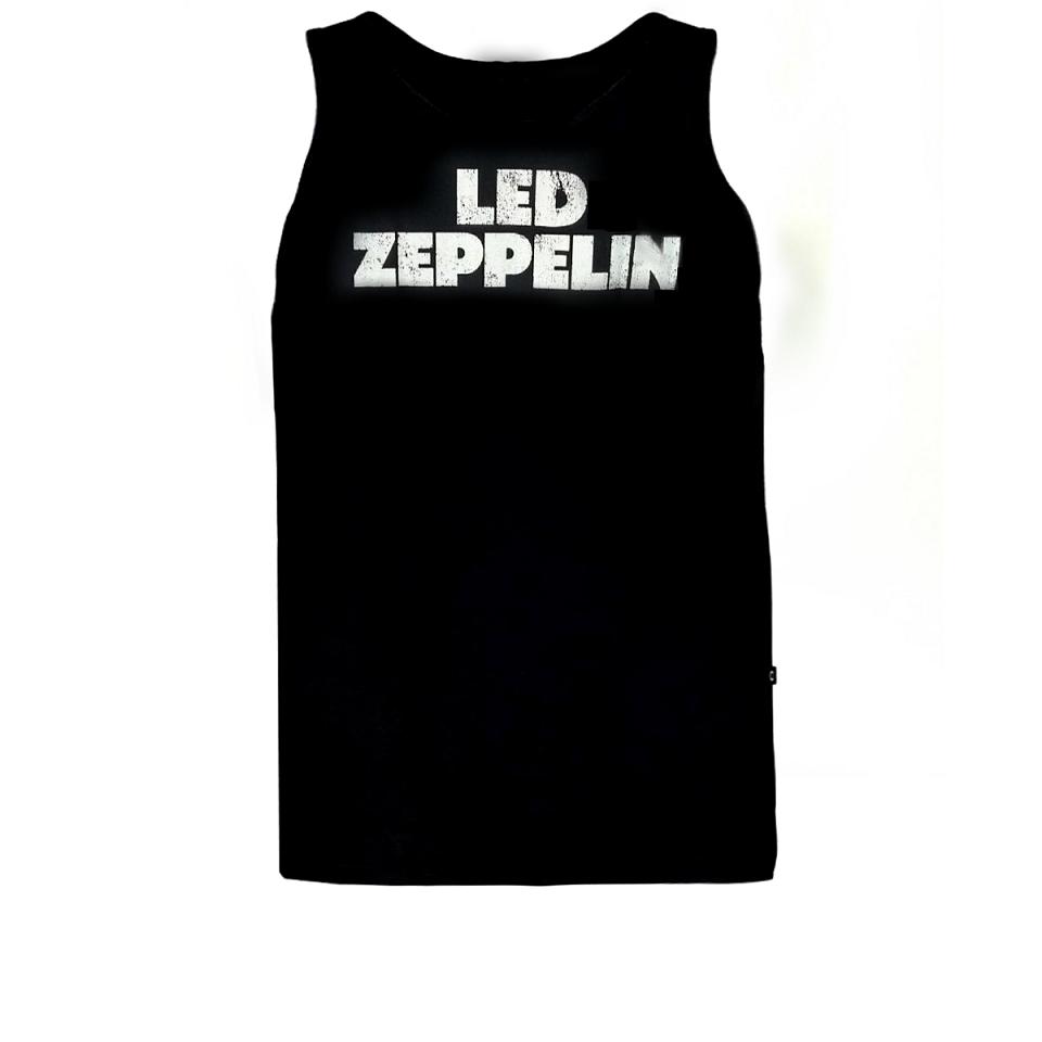 Regata Masculina Rock Led Zeppelin Preta