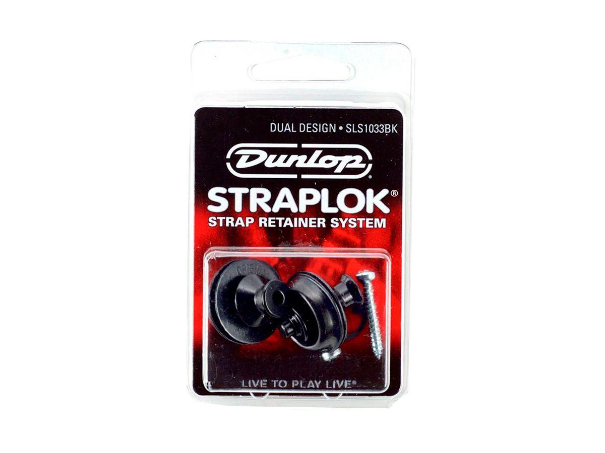 Roldana Strap Lock Dual Design Dunlop - SLS1033BK - Black