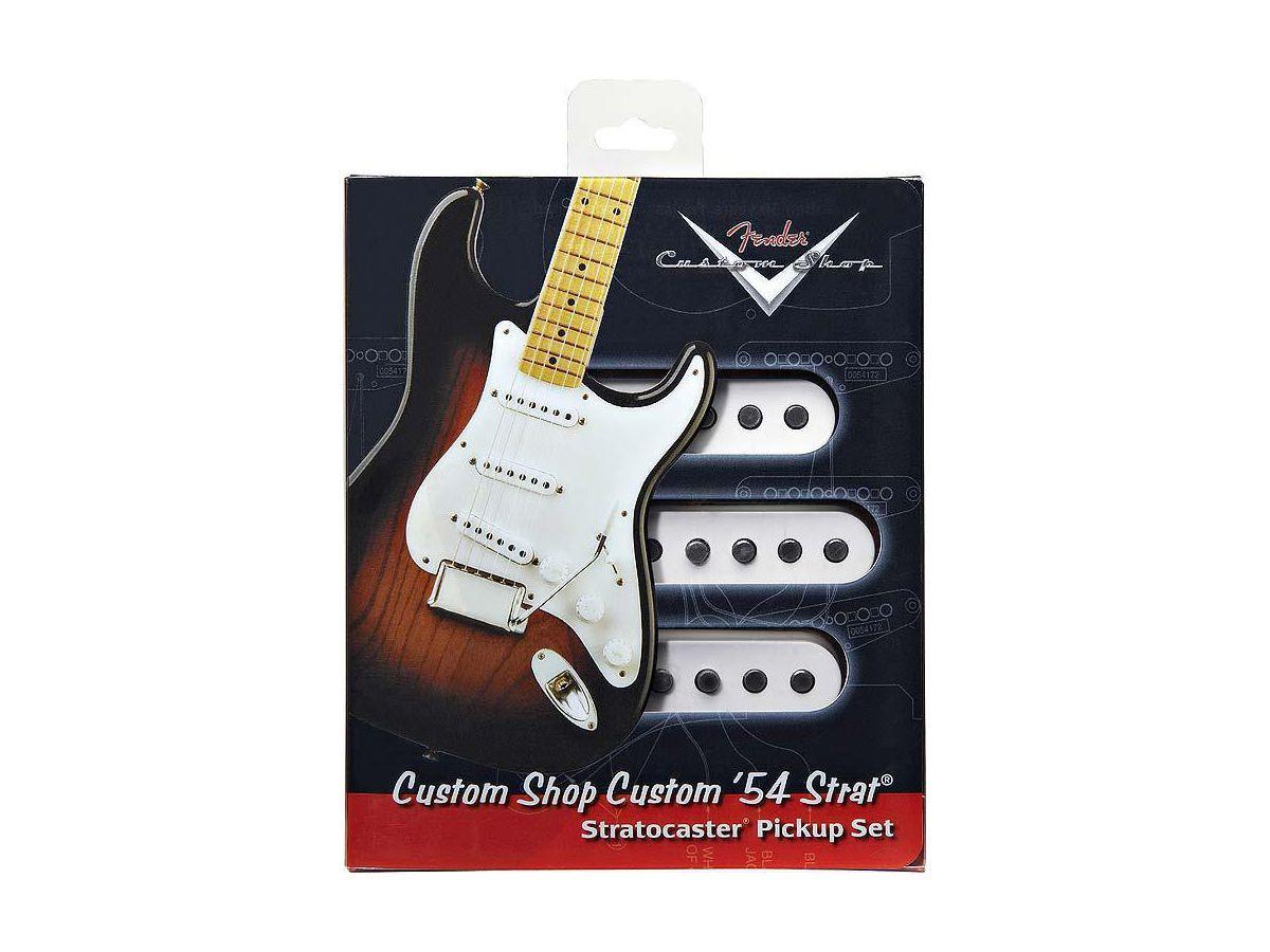 Set Captador Fender Custom Shop Custom 54 - Single Sss