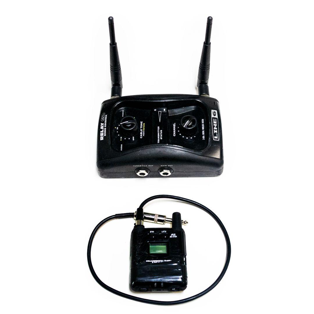 Sistema sem fio Line 6 Relay G50 - USADO