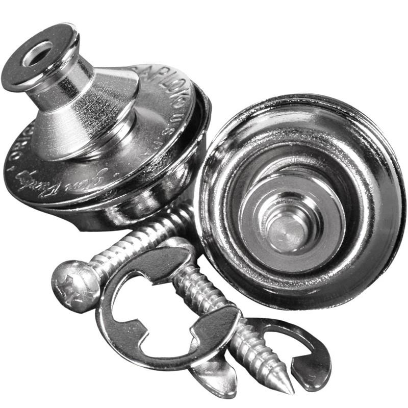 Roldana Strap Lock Dual Design Dunlop - SLS1031N - Nickel