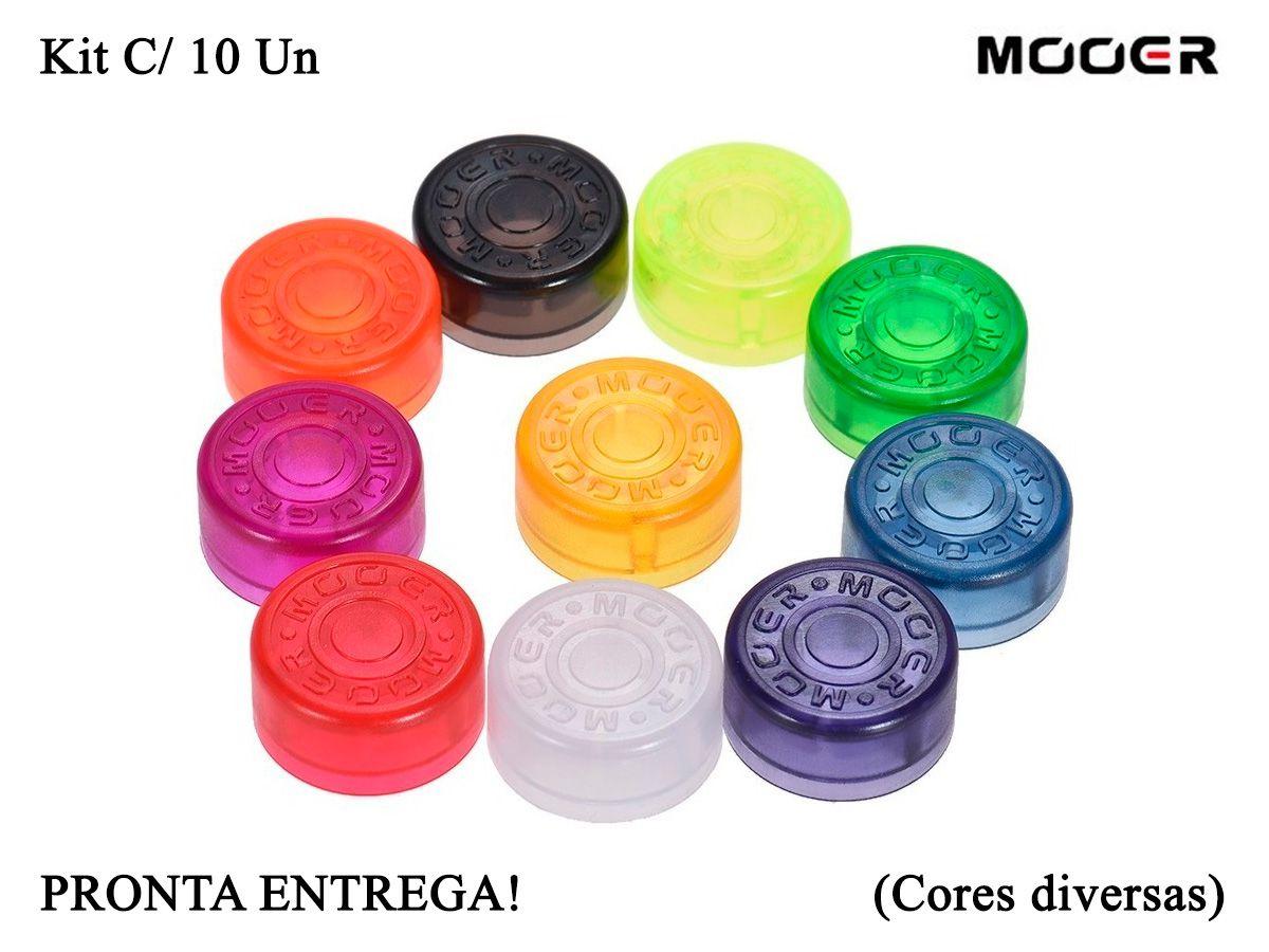 Toppers Candy Mooer Para Pedais De Efeito - Kit c/ 10 Un