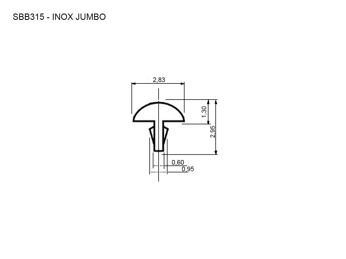 Traste Jumbo Inox Guitarra baixo Violão SBB315 Sanko Gotoh 3 metros