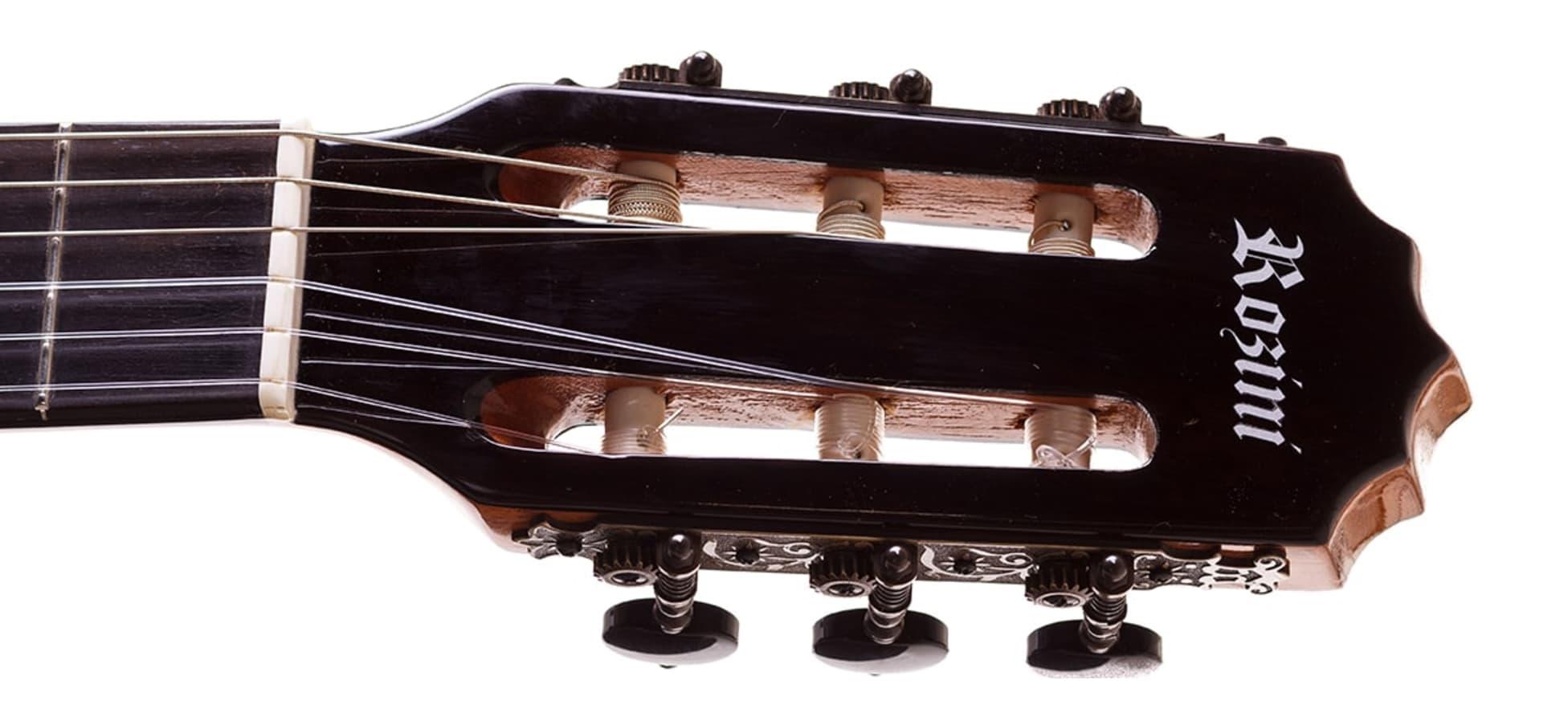 Violão Concertista Clássico AcNatural (nl) Rozini com estojo RX216ACN