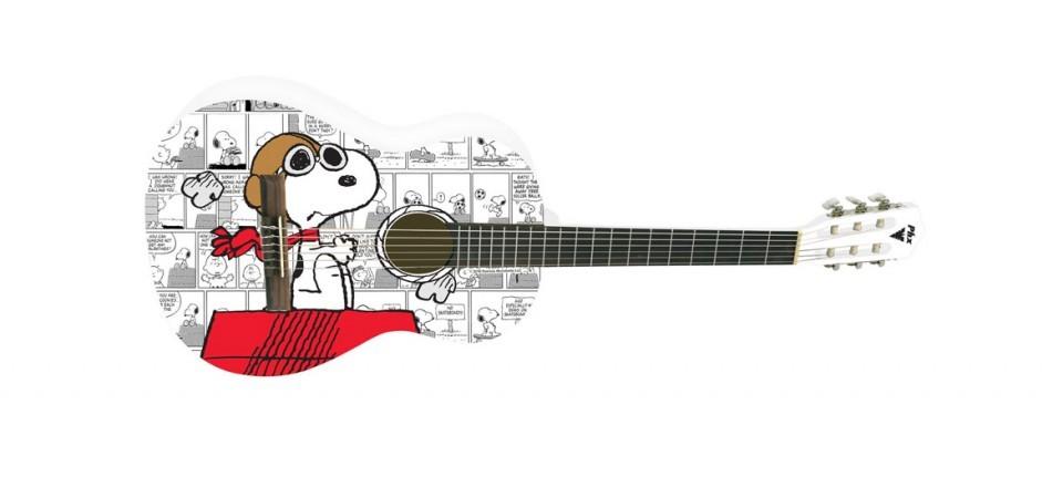 Violão Phx Nylon Snoopy Aviador Vsa-1