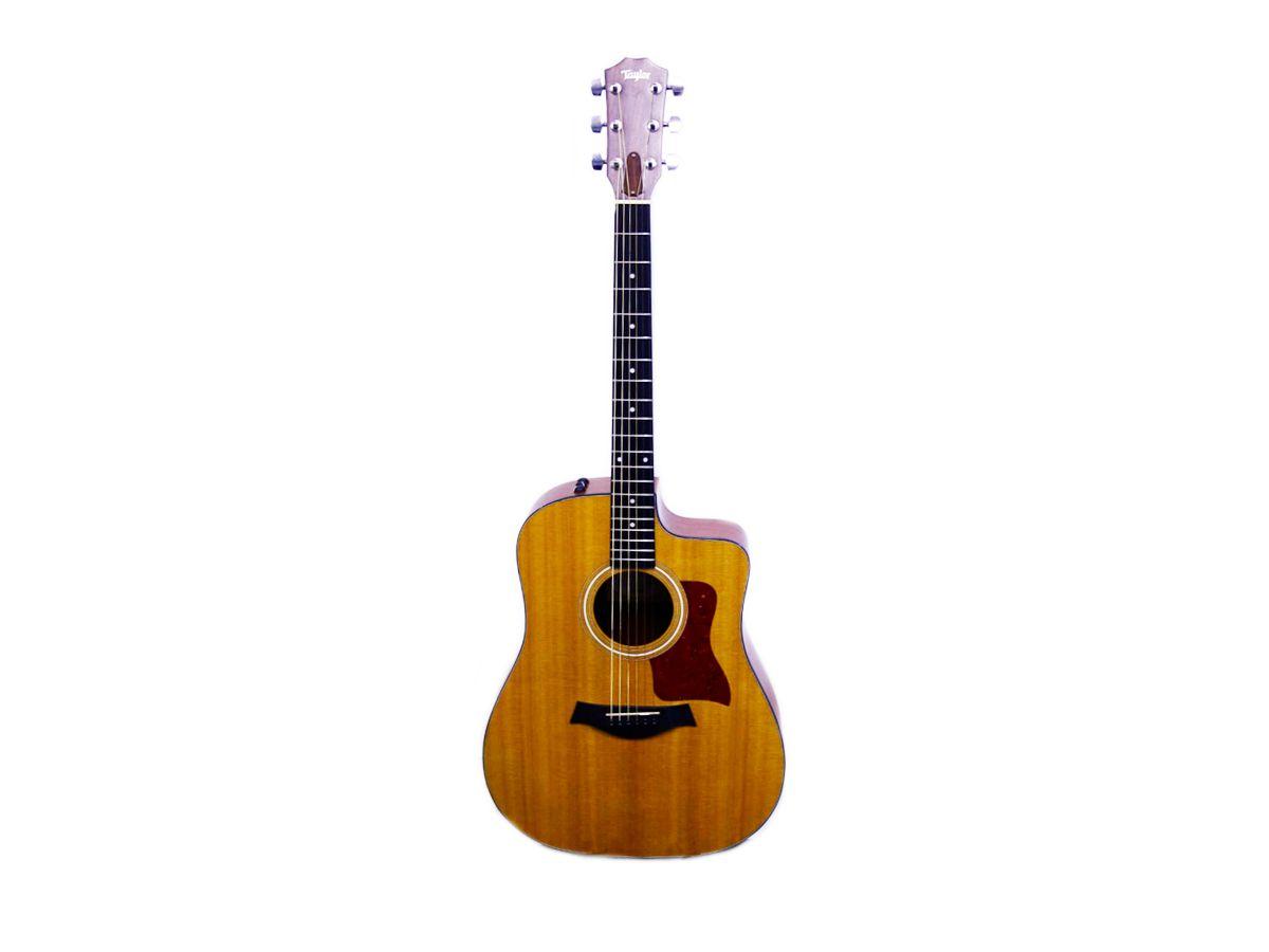 Violão Taylor 110ce Folk Elétrico Com Bag Original - Usado
