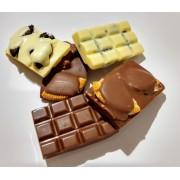 Barra de Chocolate Belga Com Oreo 5x3