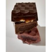 Barra de Chocolate Belga Recheada 7x4