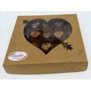 Caixa bombom DIET dia das mães - 20 unids - Chocolate Belga