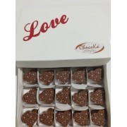 Caixa de Bombom Love - Chocolate Belga