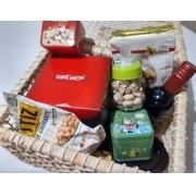 Cesta Natal Grande com 10 produtos importados