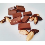Diet - Mini Barrinhas de Chocolate Ao Leite Com Castanha