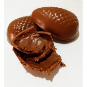 Ovo de Páscoa Recheado de  Chocolate Belga