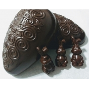 Ovo de Páscoa Meio Amargo - Chocolate Nacional