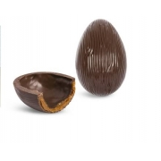 Ovo de Páscoa Meio Amargo Recheado - Chocolate Nacional