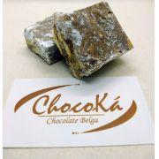 Palha Italiana de Chocolate Belga -  5 unid