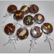 Pirulito de Chocolate Nacional - Decorado Harry Potter