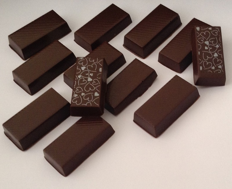 Chocolate Meio Amargo - barrinhas
