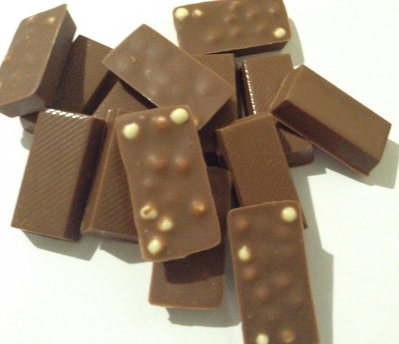 Chocolate com Crispies - Mini barrinhas