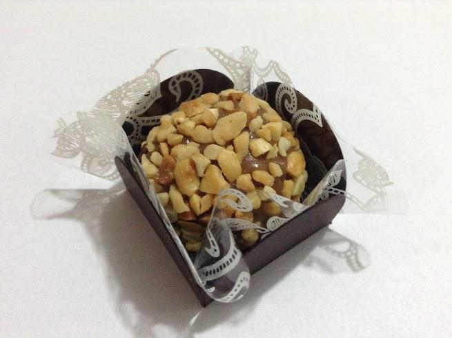 Brigadeiro com amendoim - Cx 6 Unids