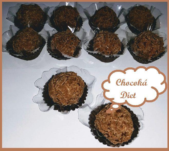 Brigadeiro Diet  Chocolate Belga