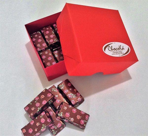 Chocolate com Gianduia - barrinhas