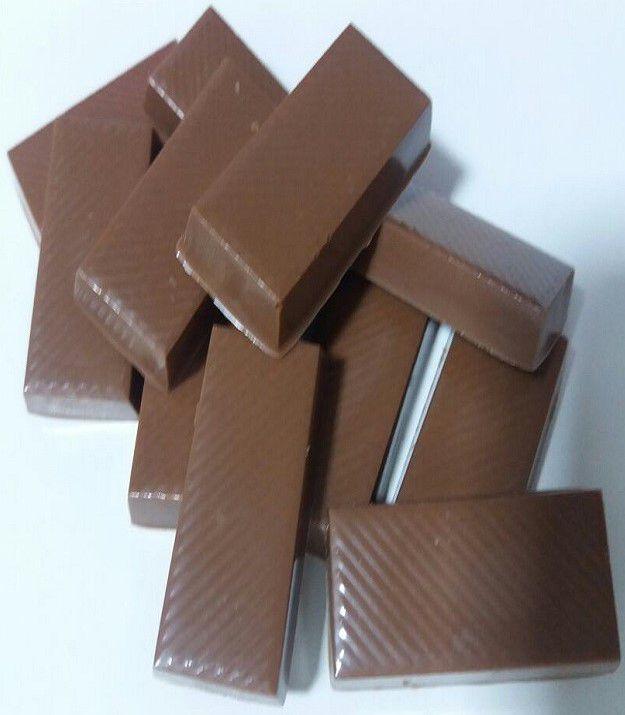 Diet - Mini Barrinhas de Chocolate Ao Leite
