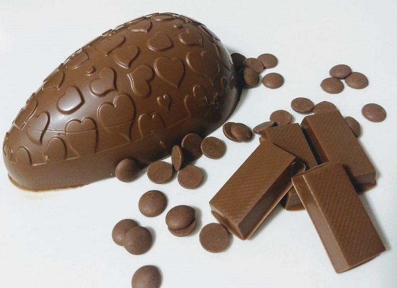 Ovo de Páscoa Ao Leite - Chocolate Nacional