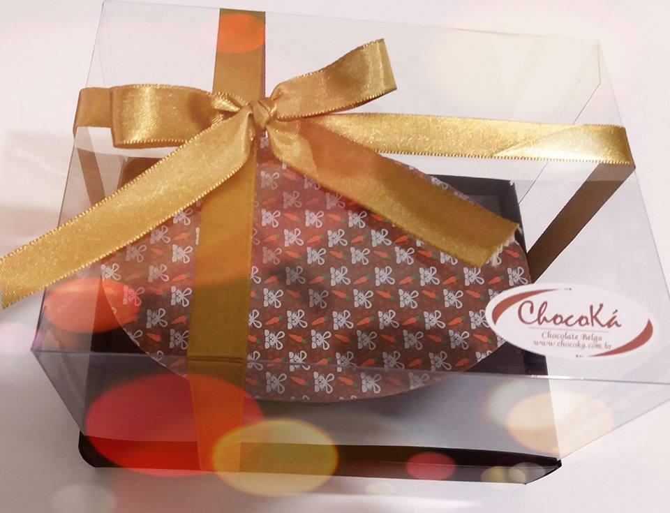Ovo de Páscoa de colher - chocolate belga