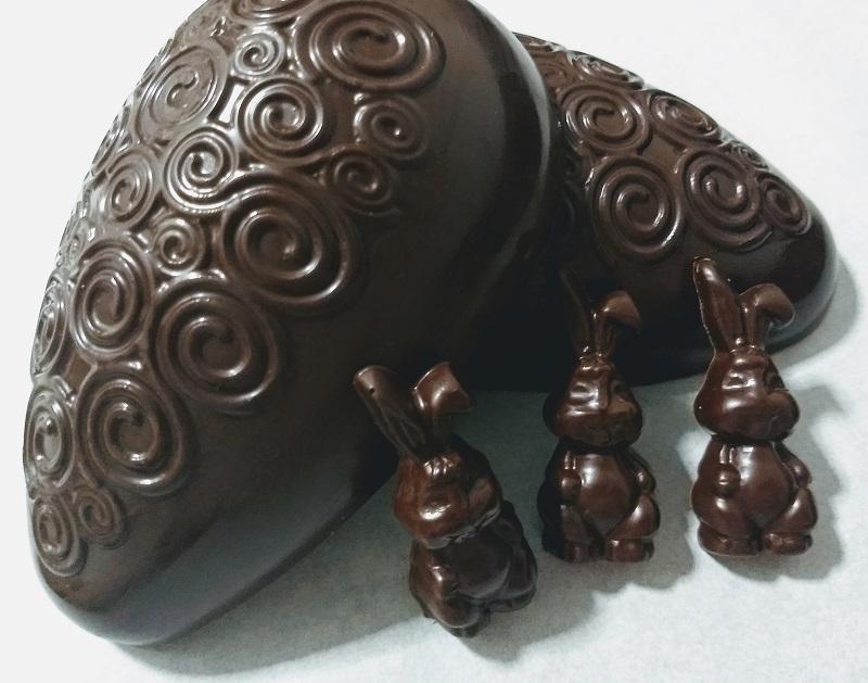 Ovo de Páscoa Meio Amargo - Chocolate Belga