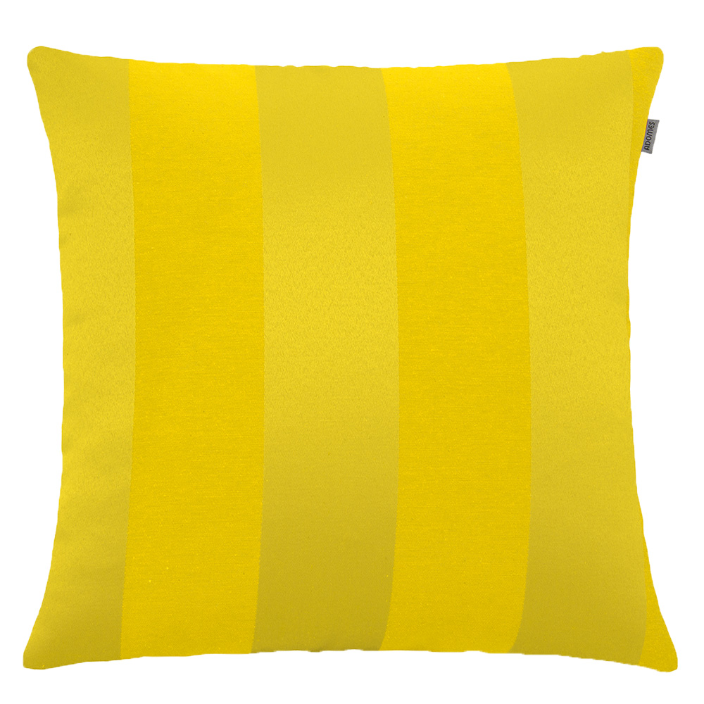 Capa de Almofada - Jacquard Listras - Amarelo  - Adomes