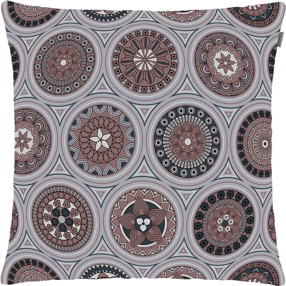 Capa de Almofada - Louvre Composé - Cinza - 45cm x 45cm - Adomes