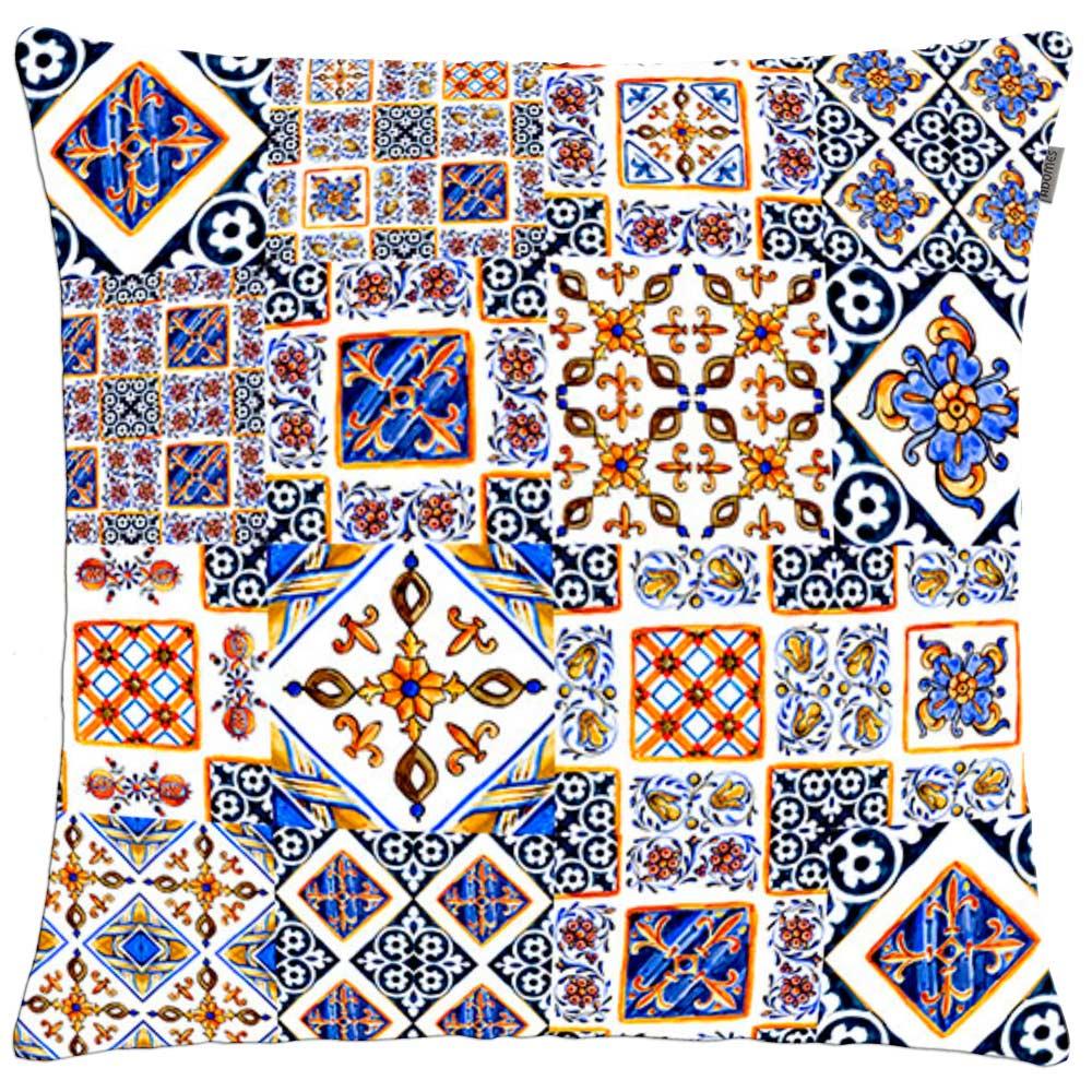 Capa de Almofada - Patch Decor - Pastilhas - 45cm x 45cm - Adomes