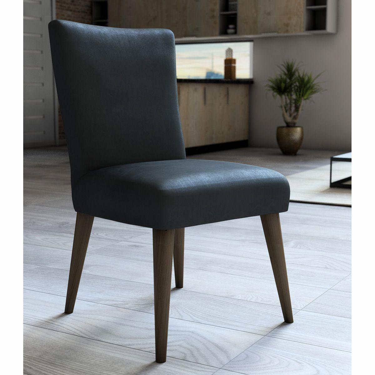 Capa P/ Cadeira - Luxo - Veludo - Aço - Adomes