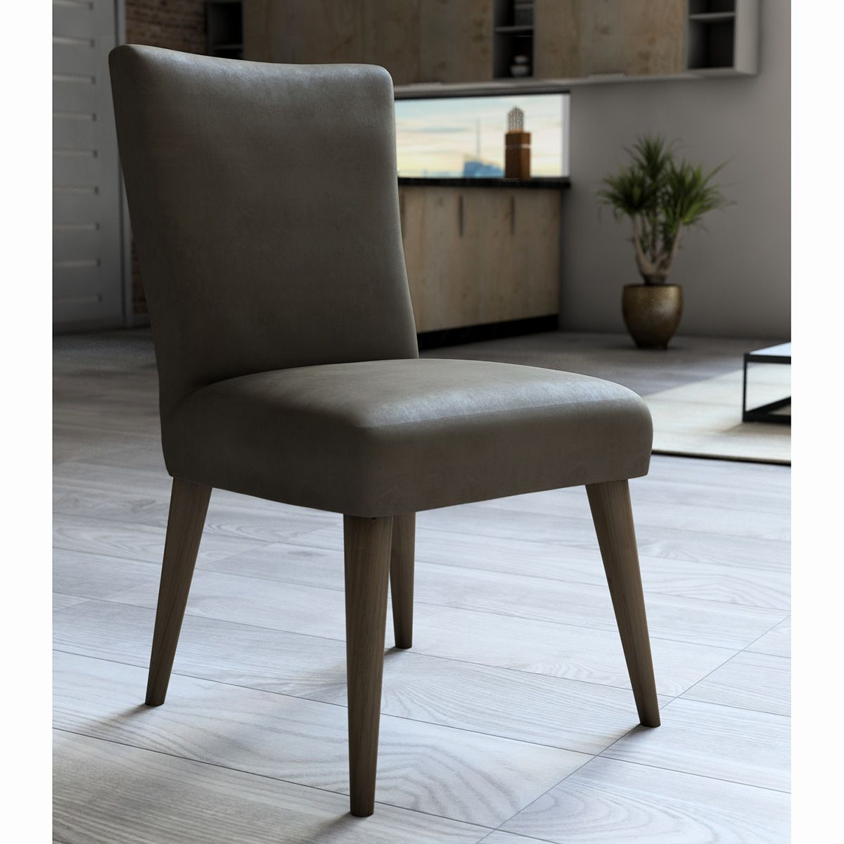 Capa P/ Cadeira - Luxo - Veludo - Castor - Adomes