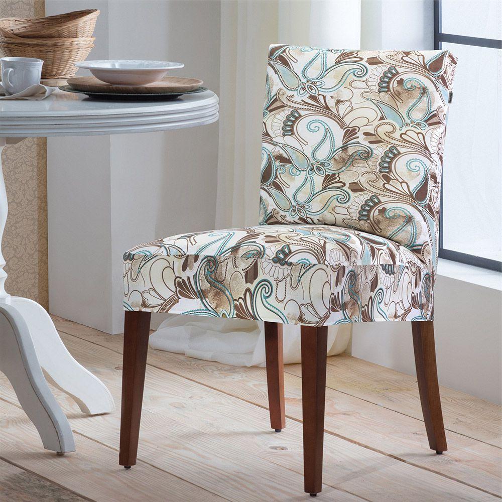 Capa P/ Cadeira - Malha - Arabesco  - Adomes